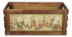 Ящик декоративный Домики 840 Акита