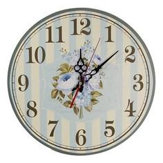 Настенные часы (40 см) Пионы C40-16 Акита