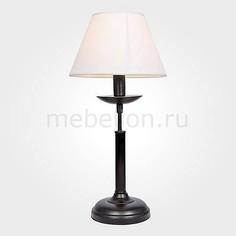 Настольная лампа декоративная 01010/1 черный Eurosvet