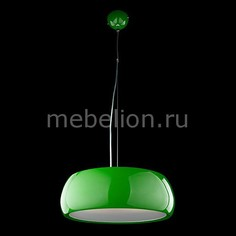Подвесной светильник 50007/3 зеленый Eurosvet