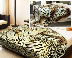 Плед (200х220 см) Leopard/Spots Buenas Noches