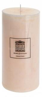 Свеча декоративная (18 cм) Marble 320522 ОГОГО Обстановочка