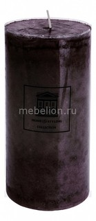 Свеча декоративная (18 cм) Marble 320452 ОГОГО Обстановочка