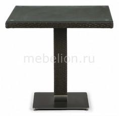 Стол обеденный T606SWT-W53-80x80 Brown Afina