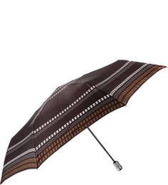 Складной зонт с коричневым куполом Doppler