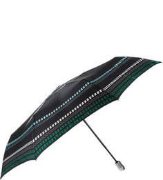 Складной зонт с темно-синим куполом Doppler