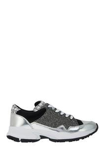 Цветные кроссовки Jil Sander Navy
