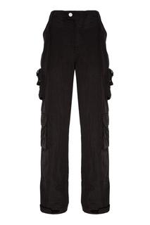 Хлопковые брюки с накладными карманами C2 H4