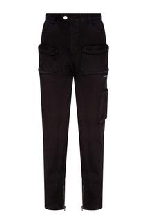 Черные джинсы с карманами C2 H4