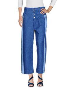 Джинсовые брюки-капри ODÌ ODÌ