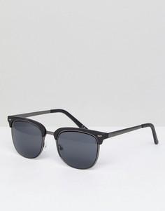 Солнцезащитные очки в стиле ретро ASOS - Серебряный