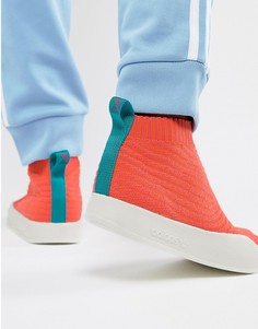 Оранжевые кроссовки adidas Originals Adilette Primeknit Sock Summer CM8227 - Оранжевый