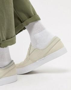 Белые кроссовки-слипоны Nike SB Zoom Stefan Janoski 833564-100 - Белый