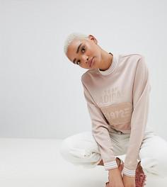 Укороченный свитшот adidas Originals Fashion League - Розовый
