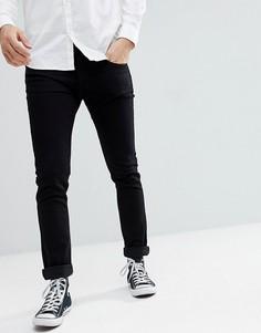 Черные джинсы скинни Lee Jeans Luke - Черный