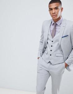 Серый пиджак Burton Menswear - Серый