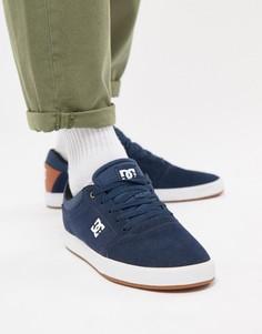 Темно-синие кроссовки DC Shoes Crisis - Темно-синий