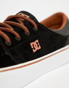 Черные кроссовки DC Shoes Trase SE - Черный