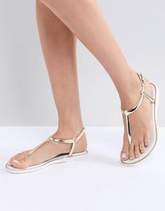 Силиконовые сандалии Miss KG Delta - Белый