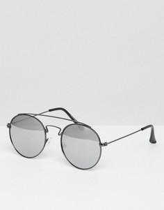 Круглые солнцезащитные очки Jack & Jones - Серый