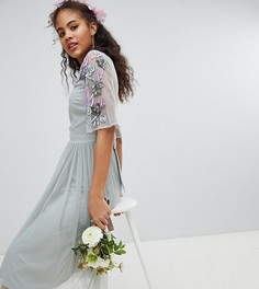 Платье миди из тюля Maya Tall - Зеленый