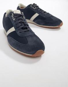 Темно-синие сетчатые кроссовки BOSS Orland - Темно-синий