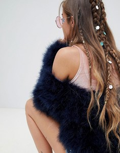 Кольца для волос с пайетками Missguided - Мульти