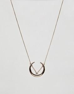 Ожерелье с подвеской Missguided - Золотой