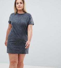 Платье-футболка Missguided Plus - Серый