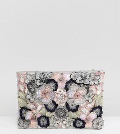 Клатч с цветочным узором Accessorize - Мульти