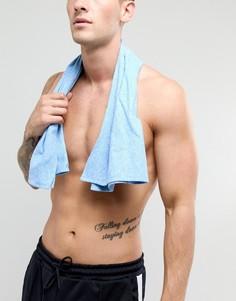 Небольшое синее полотенце Dock & Bay - Синий