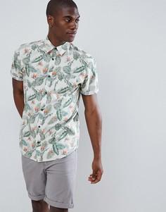 Рубашка с короткими рукавами и принтом Jack & Jones Originals - Зеленый
