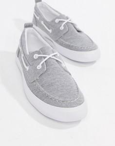 Серые меланжевые мокасины ASOS DESIGN - Серый