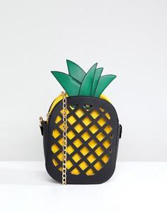 Сумка через плечо в форме ананаса 7X - Черный