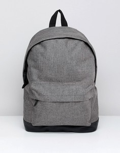 Серый меланжевый рюкзак ASOS DESIGN - Серый
