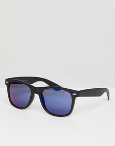 Квадратные солнцезащитные очки Jack & Jones - Синий