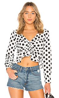 Блуза с присборенным длинным рукавом cali - LAcademie