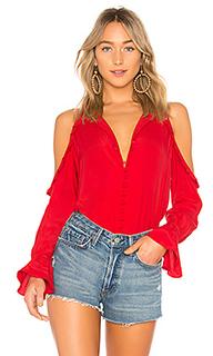 Блуза с открытыми плечами the bell - LAcademie