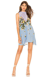Платье-комбинация с принтом marsha - Free People