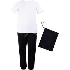 Комплект: футболка, брюки Gulliver для девочки