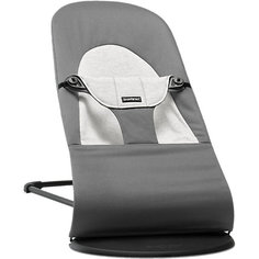 Кресло-шезлонг Balance Soft Cotton Jerrsey, BabyBjorn, серый