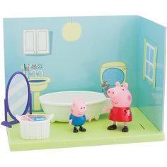 """Игровой набор Росмэн """"Ванная комната Пеппы и Джорджа"""""""