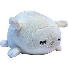Мягкая игрушка ABtoys Овечка белая, 13 см