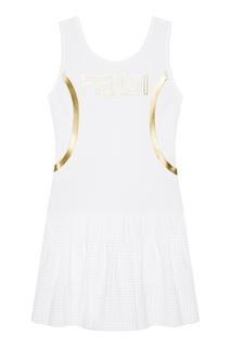 Платье в спортивном стиле Fendi
