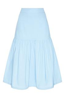 Хлопковая юбка с воланом Akhmadullina Dreams