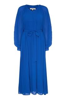 Синее плиссированное платье Akhmadullina Dreams