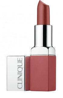Матовая помада для губ  Pop Matte Lip Colour & Primer, оттенок Blushing Pop Clinique