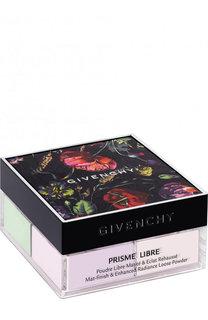 Матирующая рассыпчатая пудра для лица, 01 пастельный муслин Givenchy