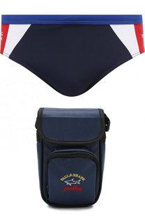 Комплект из плавок и текстильной сумки Paul&Shark Paul&Shark