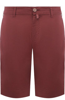 Хлопковые шорты с карманами Kiton